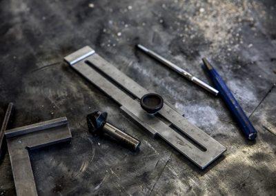 Verschiedene Werkzeuge für die Mtallverarbeitung