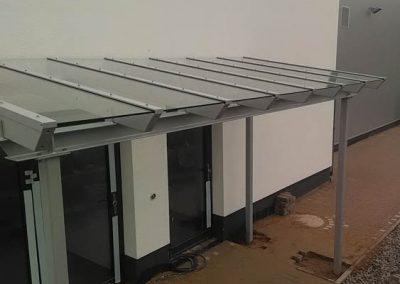 Terassenüberdachung mit Glasdach